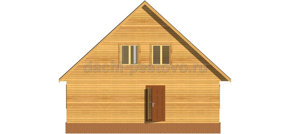 Каркасный дом №62 - Фото 4