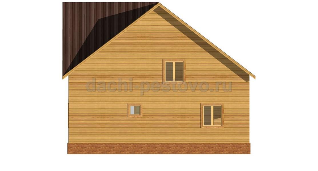 Каркасный дом №64 - Фото 4