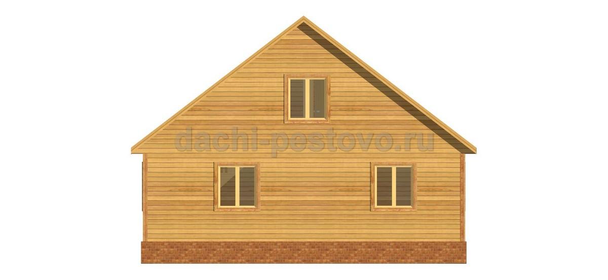 Каркасный дом №69 - Фото 4