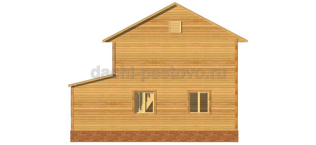 Брусовой дом №41 - Фото 4