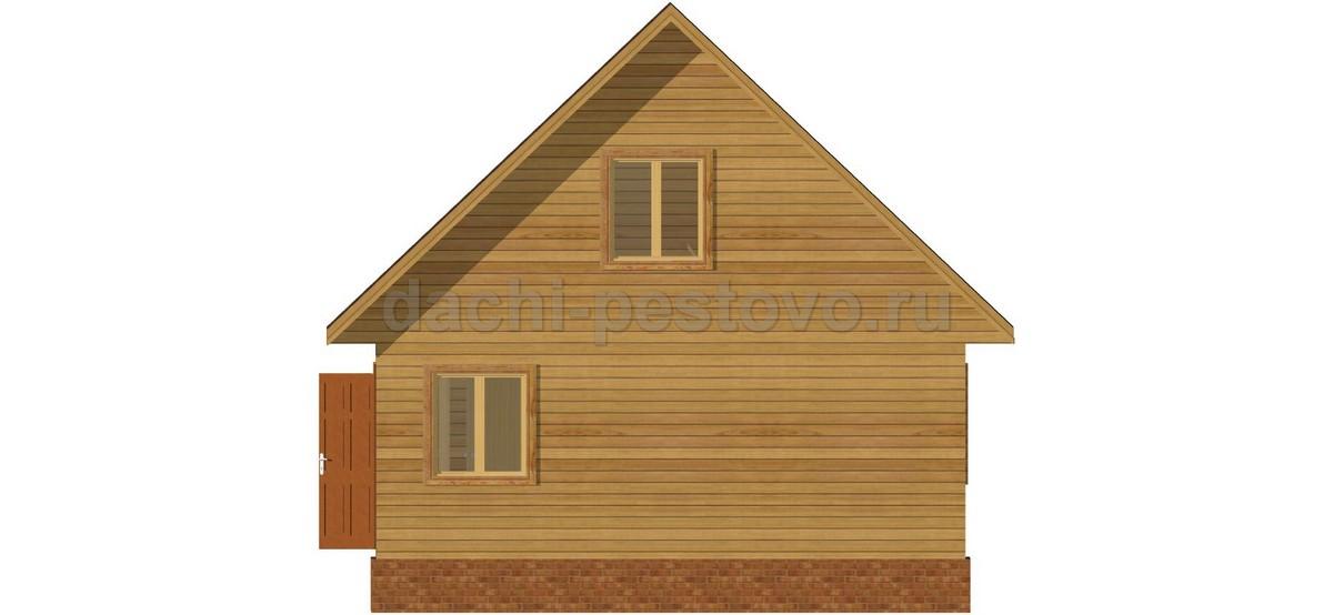Брусовой дом №44 - Фото 4