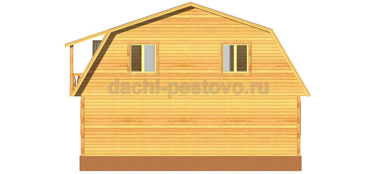 Брусовой дом №51 - Фото 4