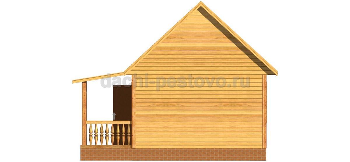 Брусовой дом №17 - Фото 4