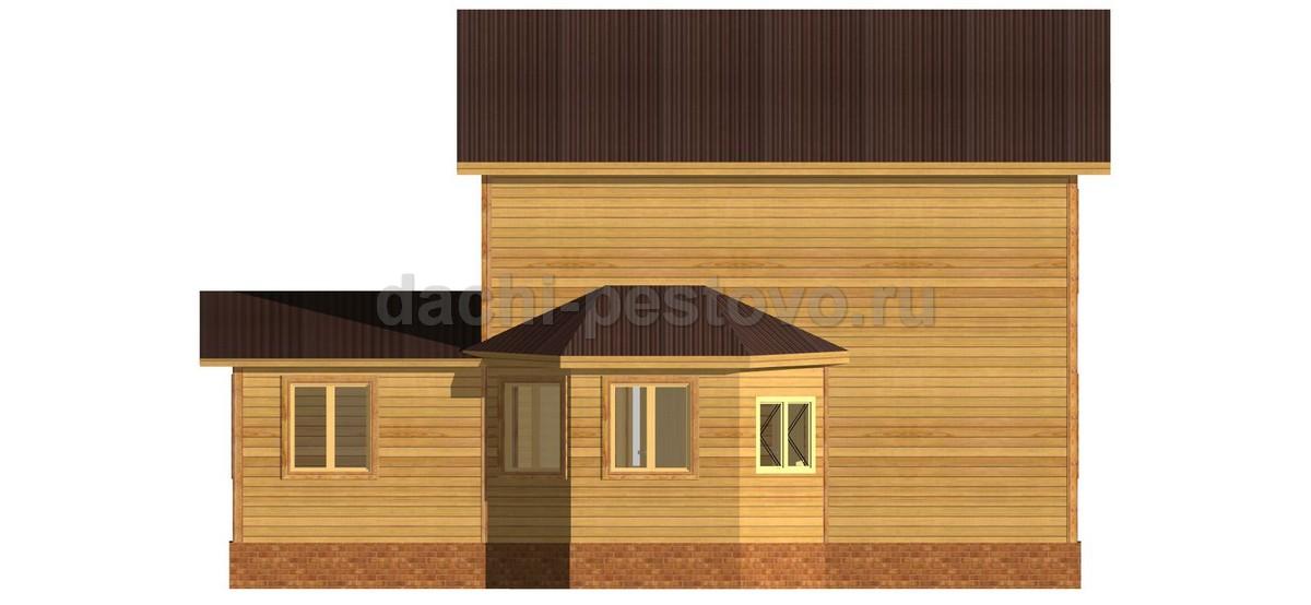 Брусовой дом №60 - Фото 4