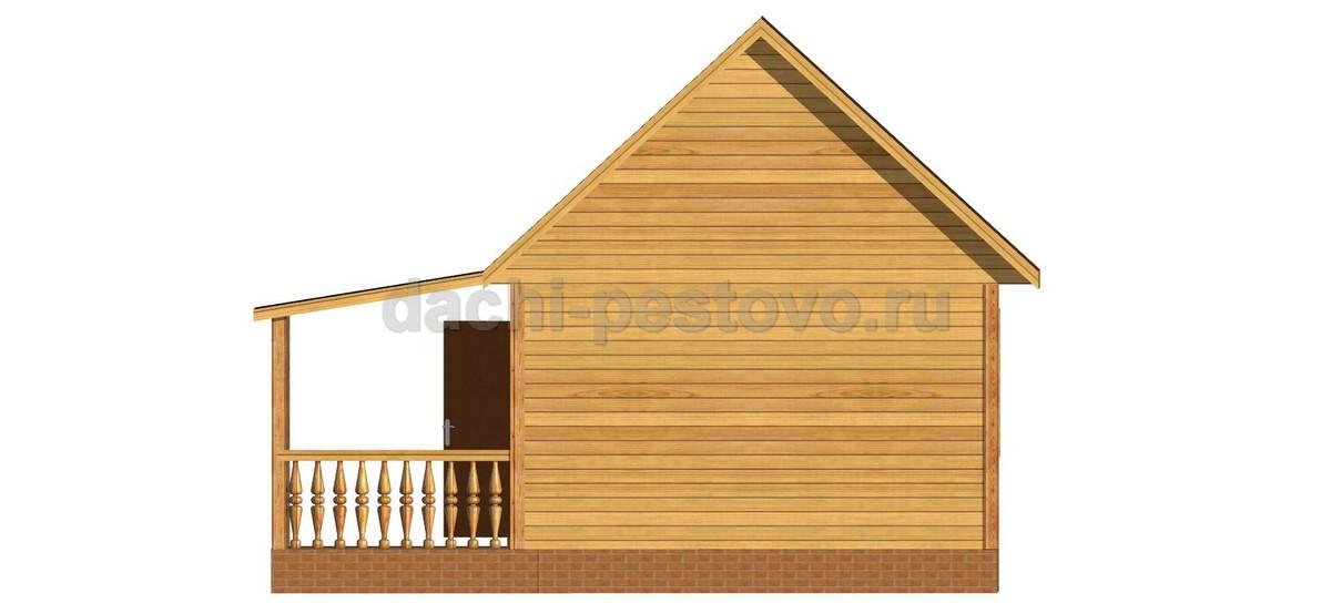 Брусовой дом №18 - Фото 4
